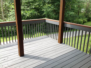 Before Deck Staining